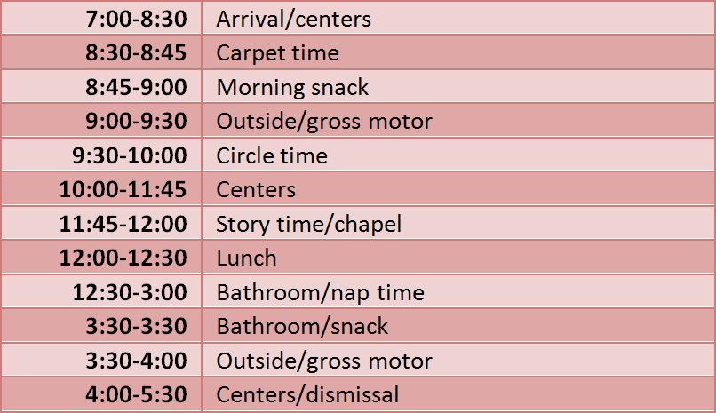 schedule_red