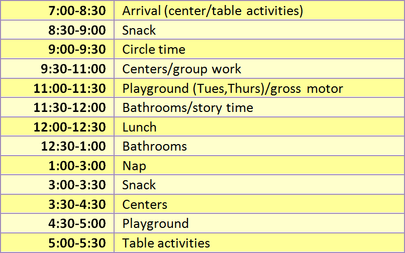 schedule_yellow